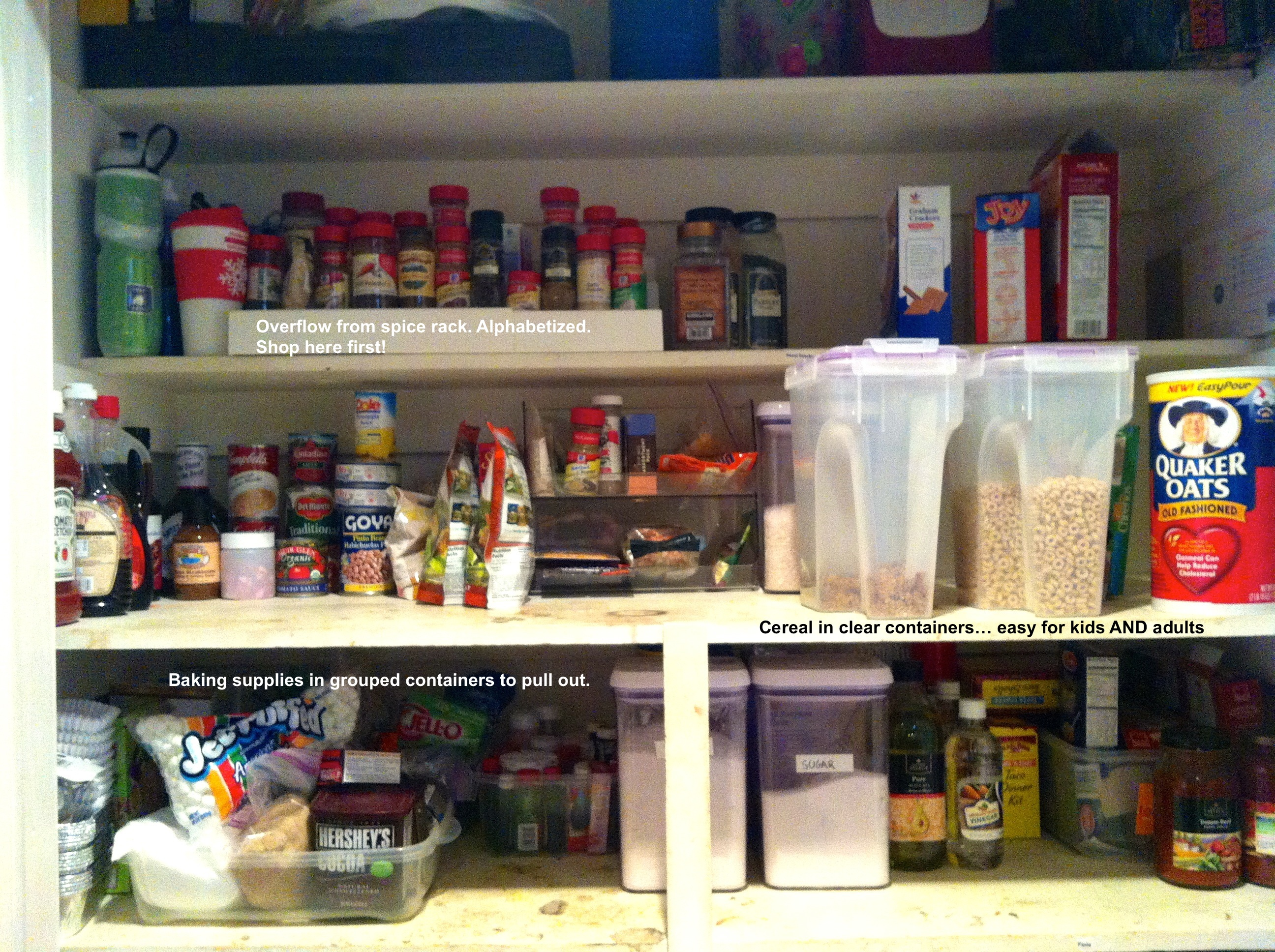 pantry after closeup