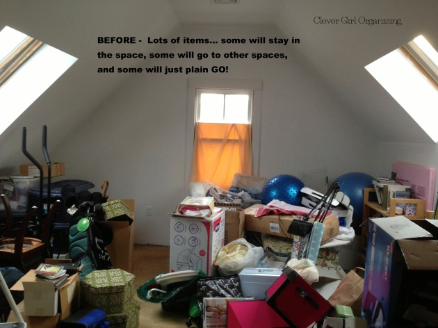 Before and After: Spare Bedroom  (Catch-all room)