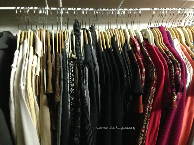Why your closet should look like a rainbow