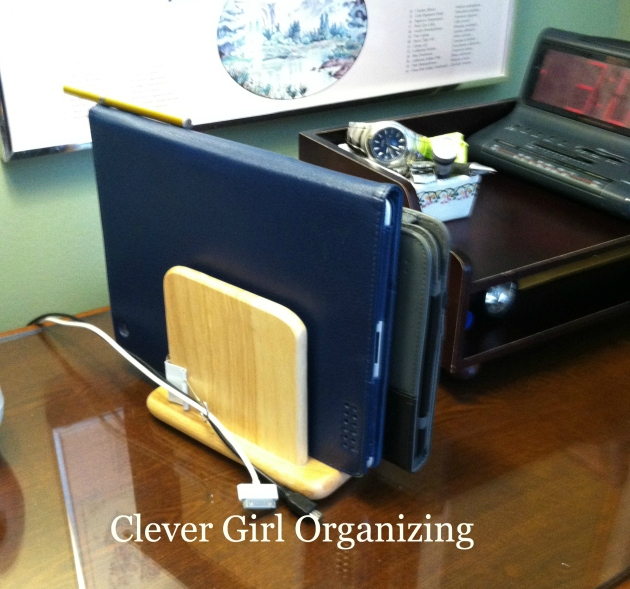 Clever Girl Solution: Tablet Charging Station