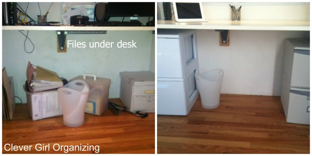 Before and After: Home Office in a Closet, revisited